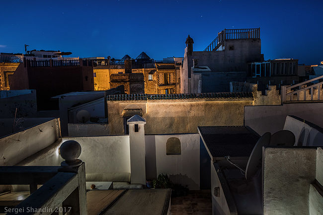 Sergey Shandin. Architect. The Roofs of Essaouira, Maroc